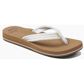 Reef Cushion Breeze Sandalias Mujer, marrón/blanco
